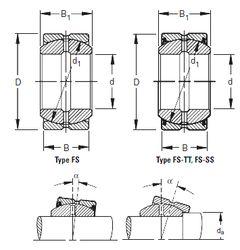 Подшипник 40FS62 Timken
