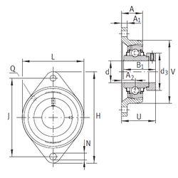 Подшипник RCJT35-FA164 INA