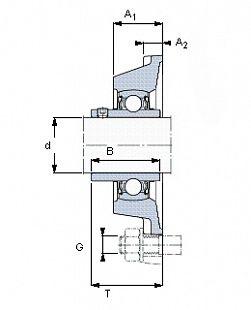 Подшипник YAR 205-2FW/VA228 SKF