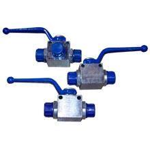 Кран гидравлический для РВД двухходовой S24-S24 М20х1.5 - М20х1.5