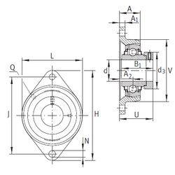 Подшипник RCJT25-N-FA125 INA